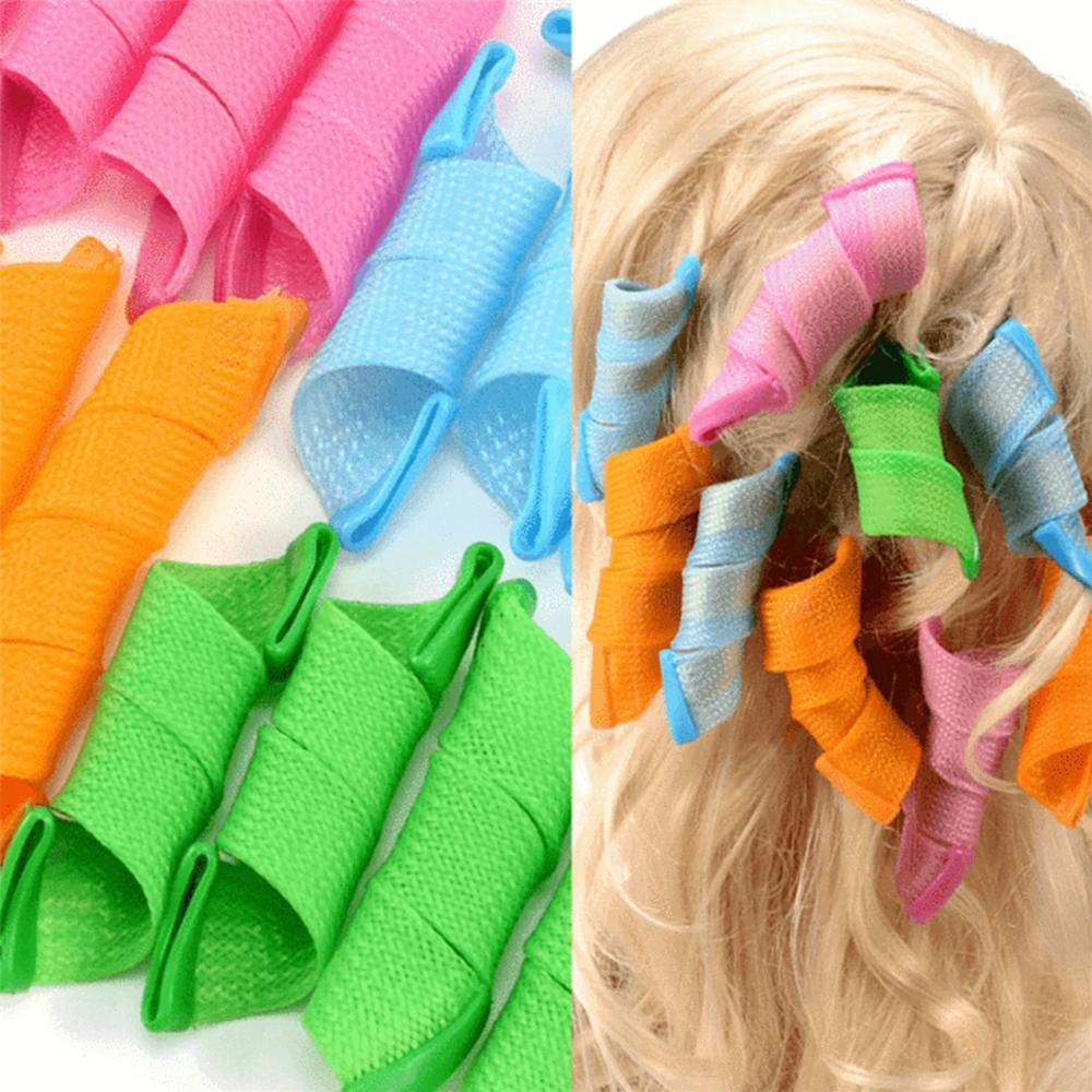 No Heat Magic DIY Hair Curlers (18pcs)
