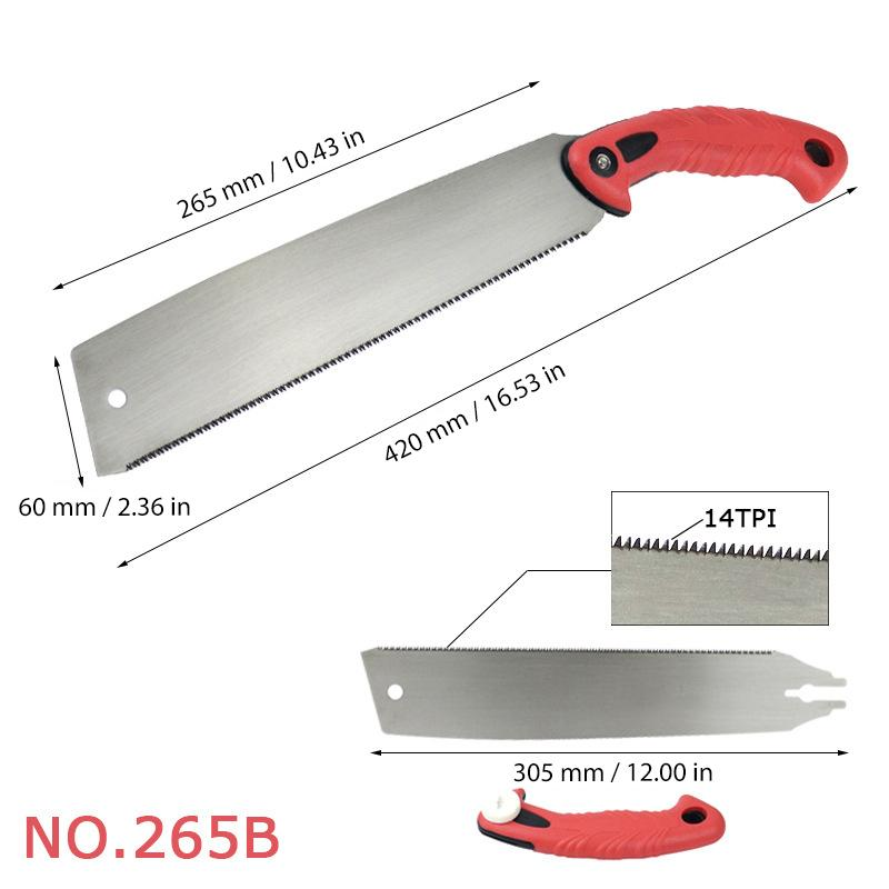 Double Edge Woodworking Saw
