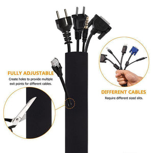 Cable Management Sleeve(4PCS)