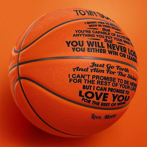 Mom to Son - You Will Never Lose - Basketball