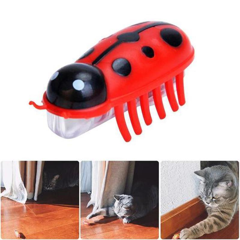 Super Robot Bug Toy for Cats - 2 Pcs