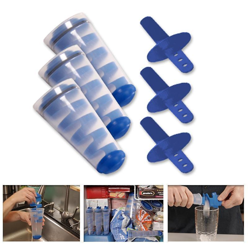 Ice Cube Trays, Ice Pop Makers (3 Pieces)