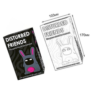 Disturbed Friends Play Card
