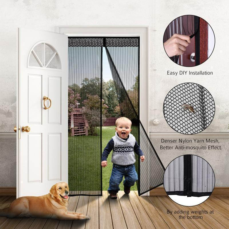 Magnetic Screen Door with Full Frame Velcro