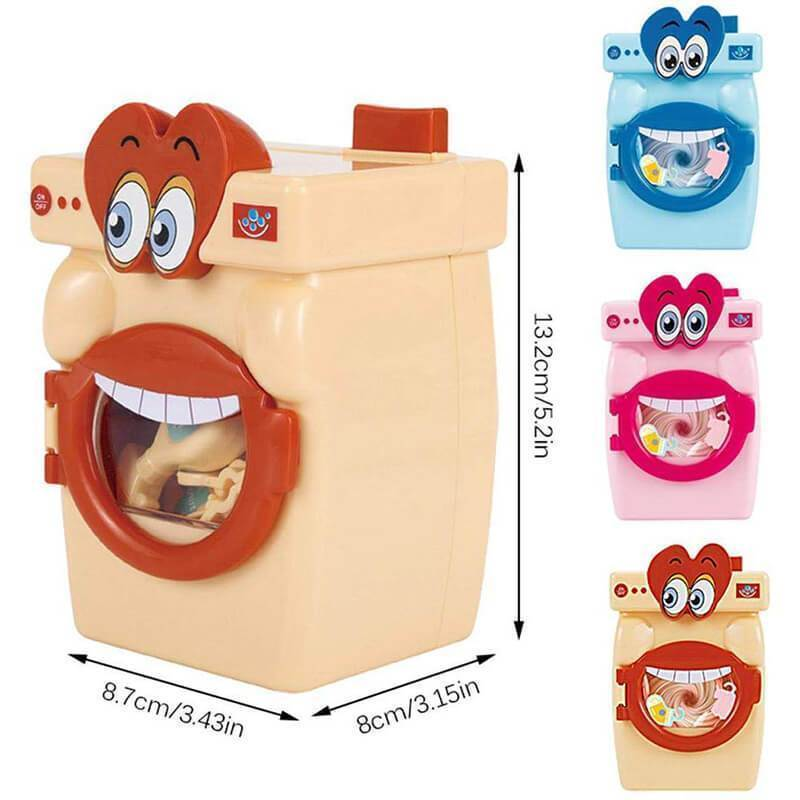 Big mouth washing machine toy