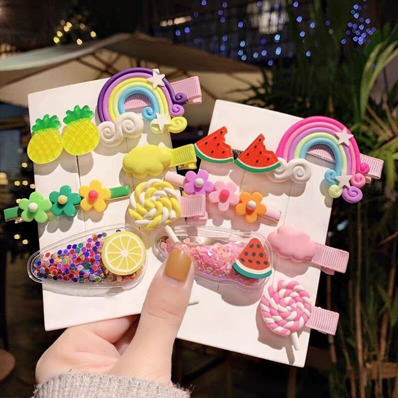 Cute Hair Clip Set