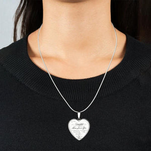 Heart shape commemorative Necklace