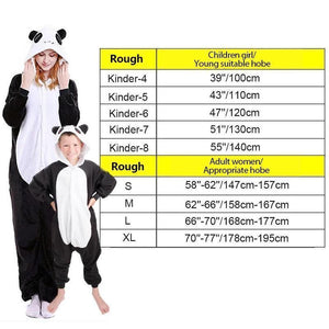 Animal cartoon warm hooded pajamas onesie
