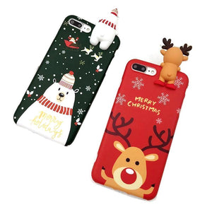 Phone 3D Christmas Cases