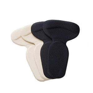 Super Soft T-shaped Silicone Anti-bladder Heel Pad