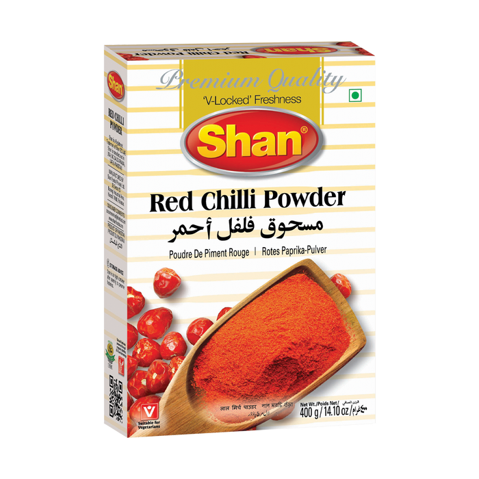 SHAN CHILI POWDER PREMIUM RED,  400g