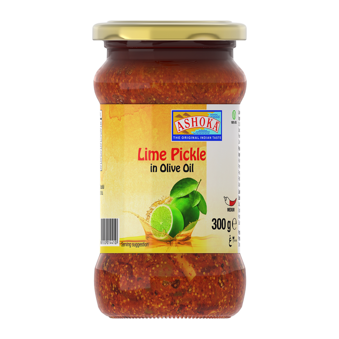 ASHOKA PICKLE LIME IN OLIVE OIL, 300g