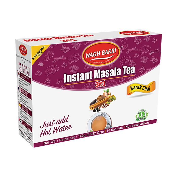 TEA WB INSTANT MASALA TEA BAGS 3 IN 1, 140g