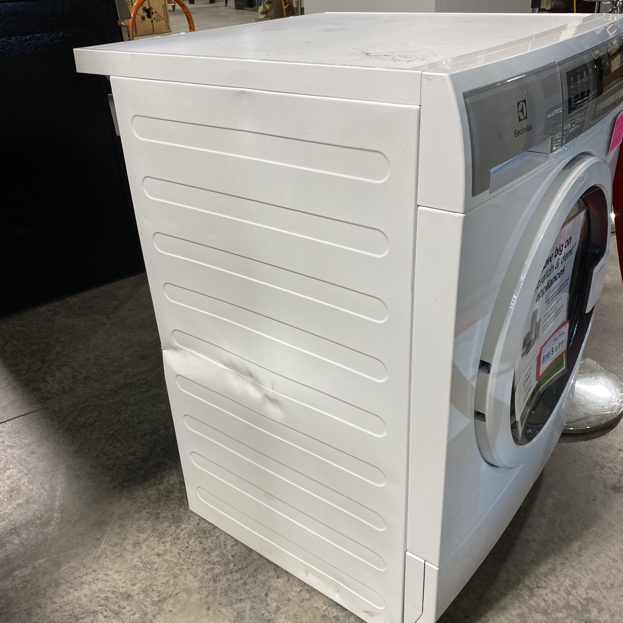 I1- Scratch and Dent Electrolux White 4.0 cu.ft Ventless Electric Dryer EFDE210TIW/2D00615764