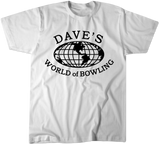 Dave's World of Bowling Full Front tee