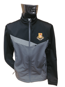 MURRAY GOLF THERMATEC JACKET - CHARCOAL/BLACK/SILVER GREY MARL