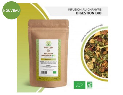 INFUSIONS CHANVRE CBD BIO / DIGESTION