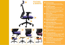 Load image into Gallery viewer, U JOY OFFICE CHAIR
