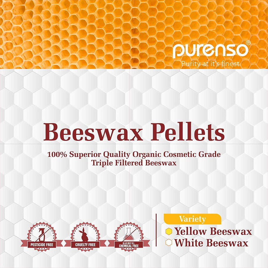 Beeswax Pellets - Yellow