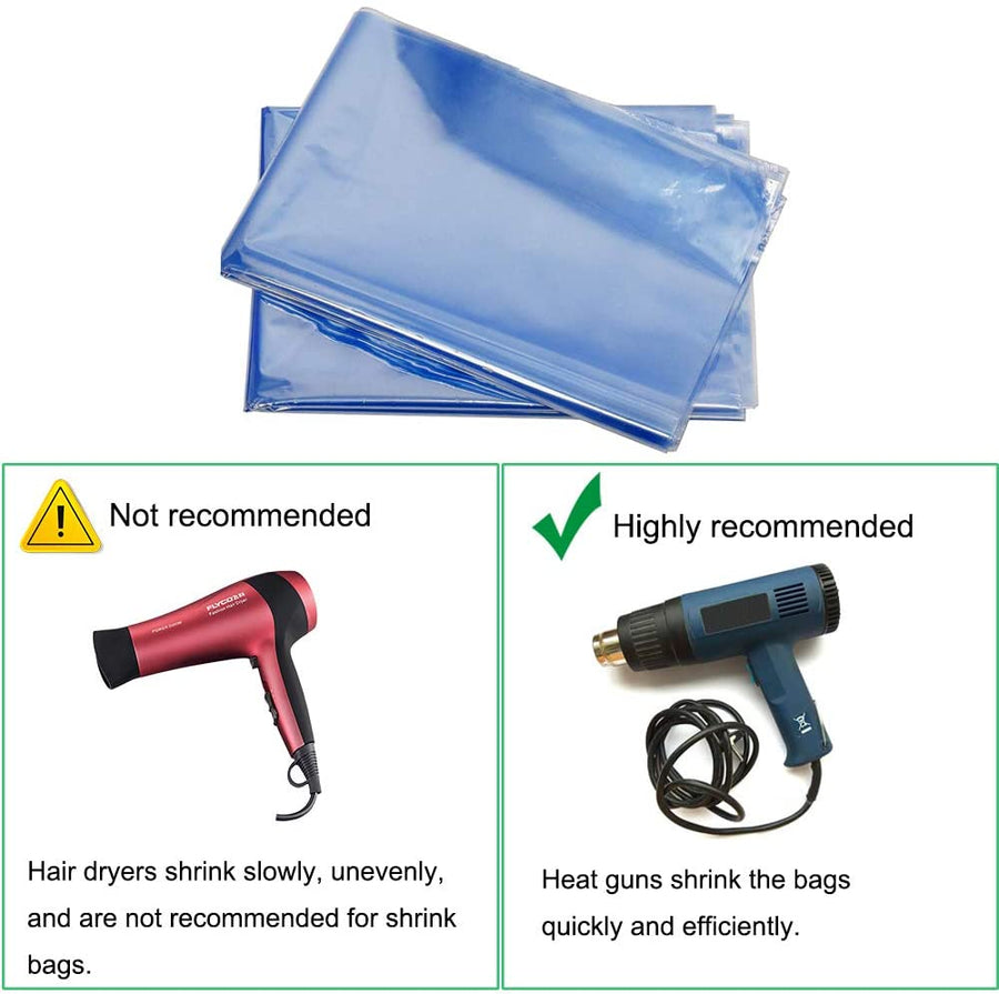 PVC Shrink Wrap Bags 4 x 6