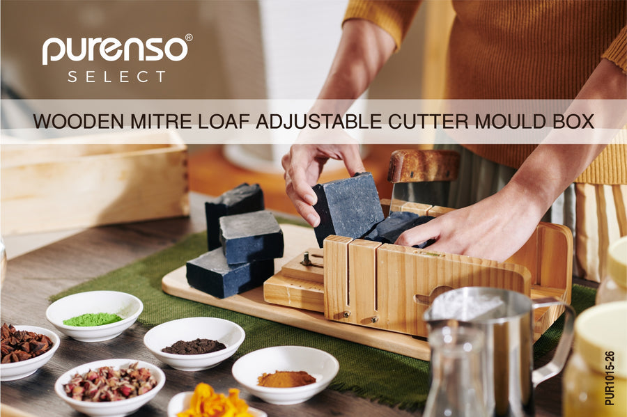 Wooden Mitre Loaf Adjustable Cutter Mould Box (PUR1015-26)