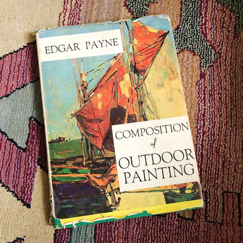 Composition of Outdoor Painting - Sparrow Lane Vintage