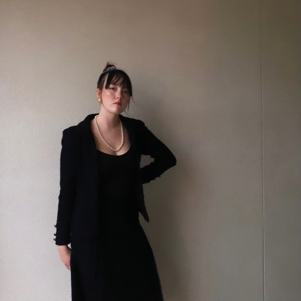 80s Vintage Classic, Elegant Skirt Suit by Adolfo New York