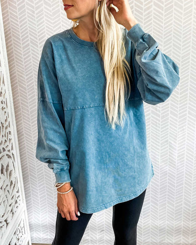 Sherryys O Neck Patchwork Casual Sweatshirt (3 Colors)