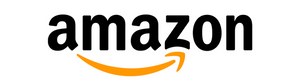 Amazon logo - Also available on Amazon.com