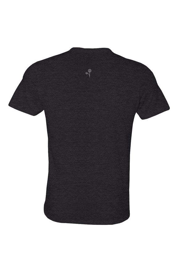 eco jersey crew t shirt - black