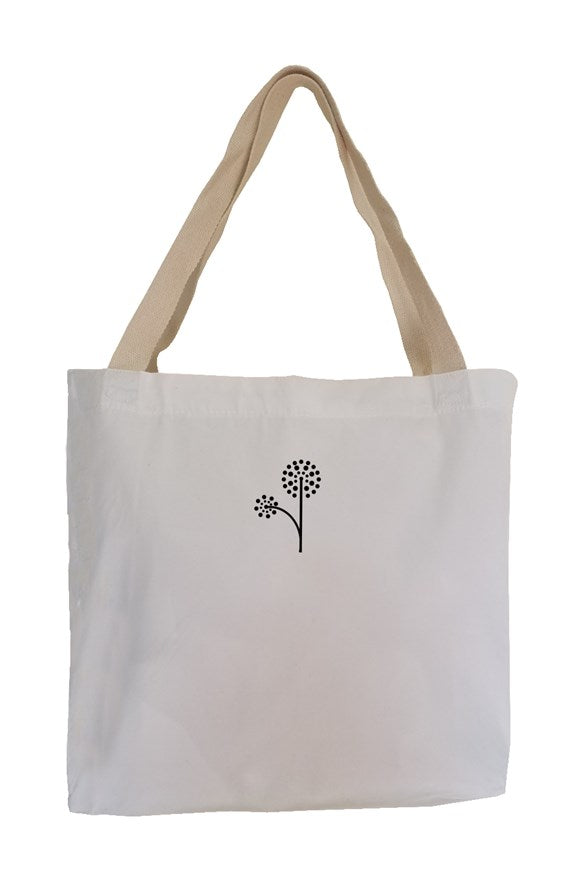 Wish You Were Vegan Eco Canvas Tote