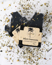 Load image into Gallery viewer, Black Chamomile Coconut Milk Soap