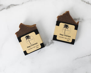 Handcrafted Nag Champa Coconut Milk Soap