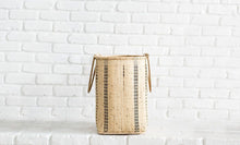 Load image into Gallery viewer, Handmade Bidayuh Laundry Basket with Handle