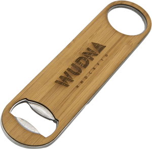 Industrial Wood Bottle Opener