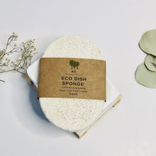 Load image into Gallery viewer, Eco Dish Sponges: Single Layer 3-Pack