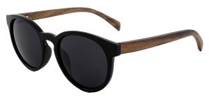 Real Ebony Wood Beach Days Sunglasses by WUDN
