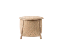 Load image into Gallery viewer, Handwoven Zig Zag Storage Basket