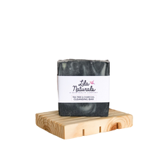 Load image into Gallery viewer, Cleansing Bar : Tea Tree & Charcoal