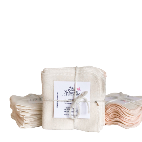 Organic Bamboo Cotton Cleansing Cloths