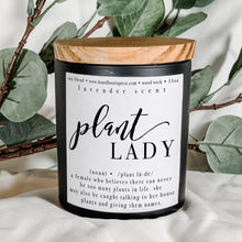 Load image into Gallery viewer, Plant Lady 11oz Hand Poured Candle