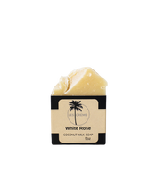 Load image into Gallery viewer, White Rose Coconut Milk Soap
