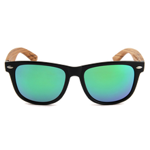 Load image into Gallery viewer, Real Zebra Wood Wanderer Sunglasses by WUDN