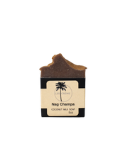 Load image into Gallery viewer, Handcrafted Nag Champa Coconut Milk Soap