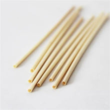 Load image into Gallery viewer, Natural Wheat Drinking Straws (500 STRAWS) - FREE US Shipping