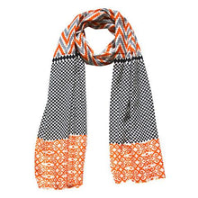 Load image into Gallery viewer, Sahara- Ikat Print Scarf