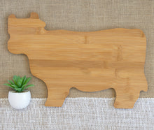 Load image into Gallery viewer, This is Where I Slaughter my Vegetables Animal Shaped Cutting Board