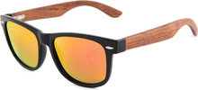 Load image into Gallery viewer, Real Rose Wood Wanderer Sunglasses by WUDN