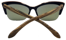 Load image into Gallery viewer, Real Walnut Wood Cat Eyes Sunglasses by WUDN
