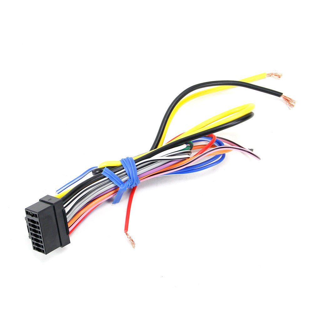 Alpine Wiring Harness 7400 Auto Electrical Diagram Walker Mt23 Ghs For Cd Receiver Cde 121 Car Audio